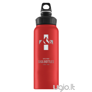 Gertuvė SIGG WMB Mountain Red Touch 1,0 l